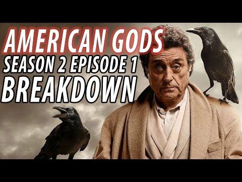 AMERICAN GODS Season 2 Episode 1 Breakdown & Details You Missed!