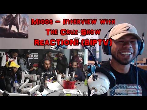 Migos - Interview with The Cruz Show REACTION! (BIP)
