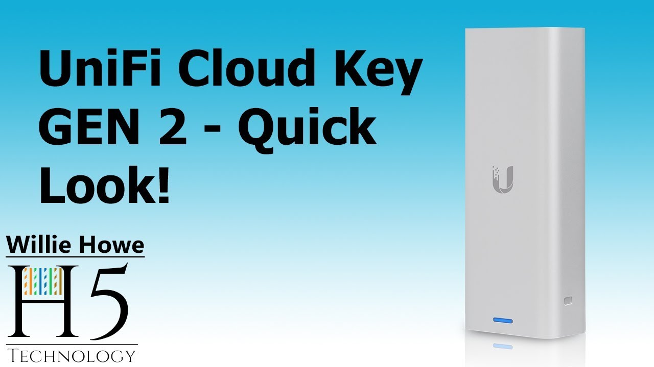 Ubiquiti Cloud Key Gen 2 - Quick Overview