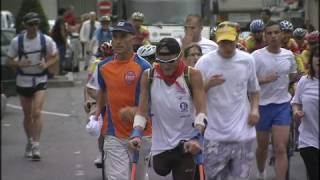 Tour de France sur une jambe