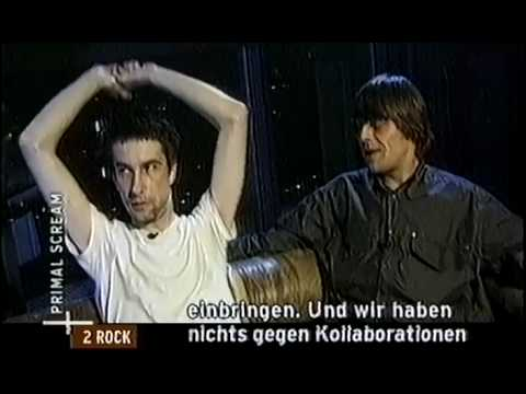 Primal Scream 2000 Interview @ Markus Kavka 1/2
