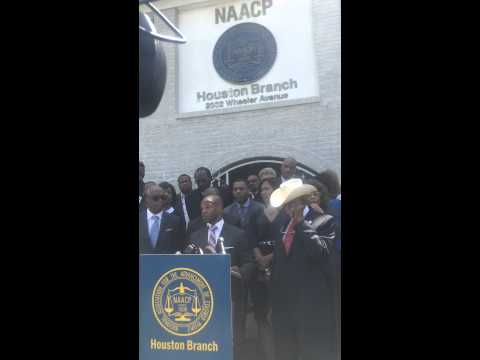 Deric Muhammad Speech During NAACP Houston Branch Press Conference