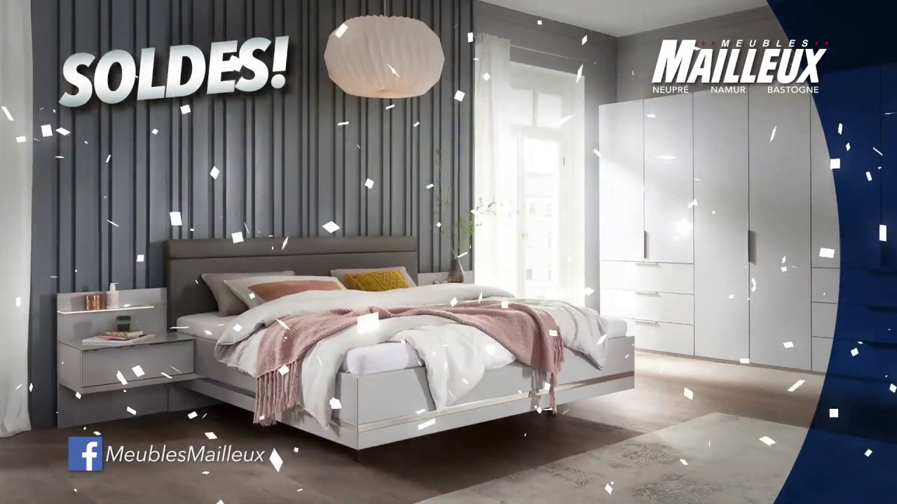 Meubles Mailleux Soldes 2020 Chambre A Coucher Youtube