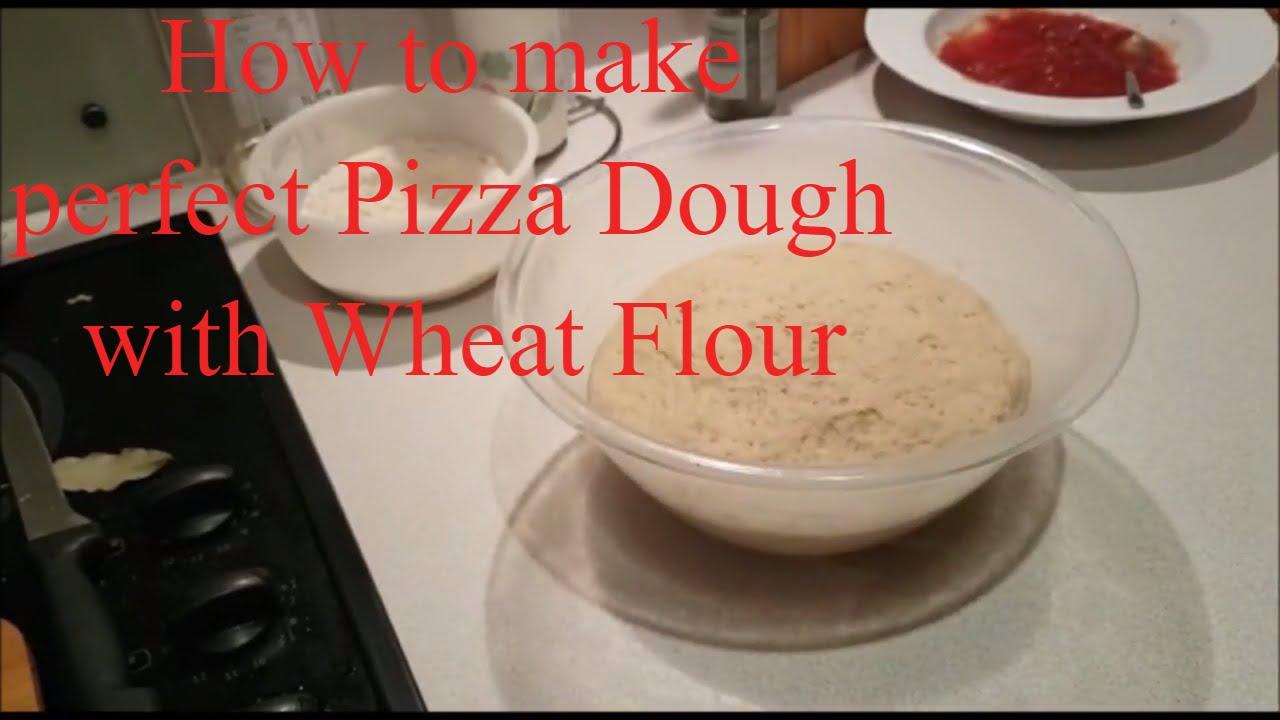 Wheat Flour Pizza Dough | How to make perfect Pizza Dough Recipe | Atta Pizza Dough|Wheat Flour Base - YouTube