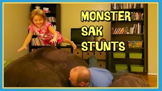 MONSTER SAK STUNTS
