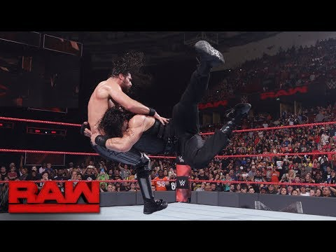 Roman Reigns vs. Seth Rollins: Raw, May...