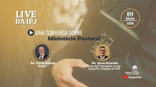 [LIVE] Uma conversa sobre Ministério Pastoral | Rev. Silvano Bernardino