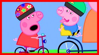 Peppa Pig Official Channel 🥇 Peppa Pig's Bicycle Race 🥇