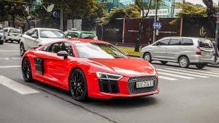 Phan Thành thử khả năng tăng tốc của Audi R8 V10 Plus | XSX