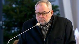 Piotr Adamowicz pożegnał brata podczas mszy pogrzebowej | OnetNews