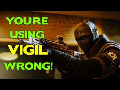 Rainbow Six Siege Tips || You're using Vigil wrong!