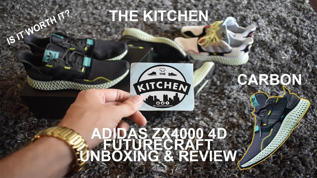 f5fa63e5c Adidas ZX 4000 4D Carbon Futurecraft