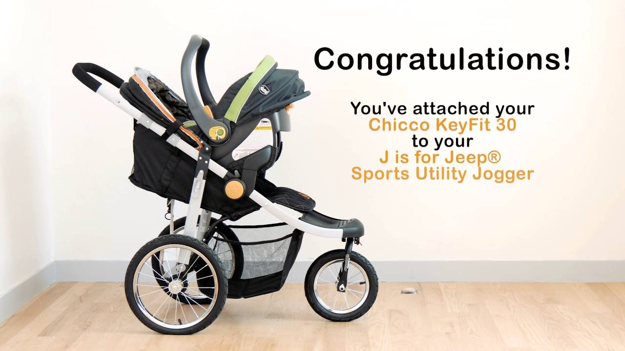 How To Attach Car Seat To J Is For Jeep Sports Utility Jogging