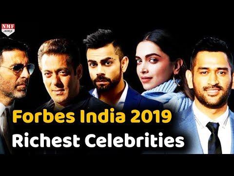 Forbes Richest Celebrity India 2019 | Salman | Akshay | Virat