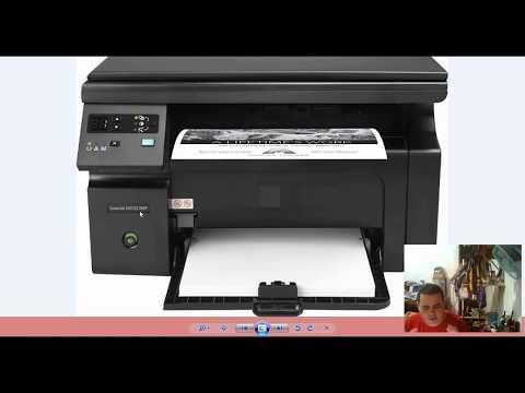Scanear Na Impressora HP M1132 MFP