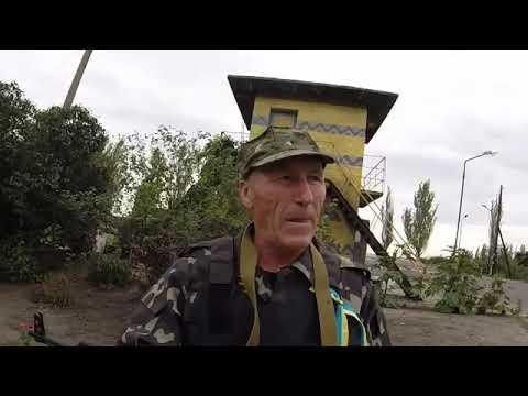 Донбасс, самооборона шахтерского города Доброполье