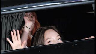 200604 트와이스 TWICE 나연 Nayeon 사나 Sana :  엠카 퇴근