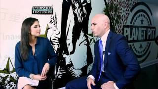 Exclusive: Pitbull talks to Primer Impacto about Lindsay Lohan lawsuit