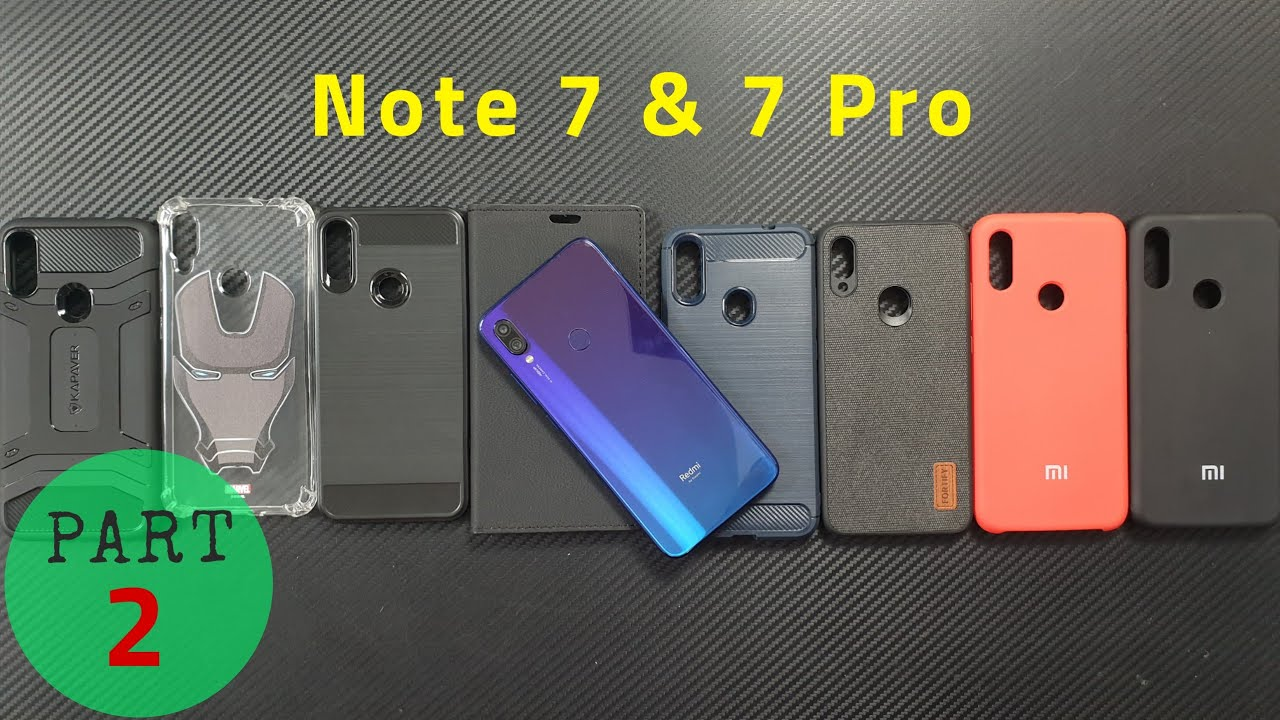 Best Accessories For Redmi Note 7 7s 7 Pro Back Case Cover Youtube