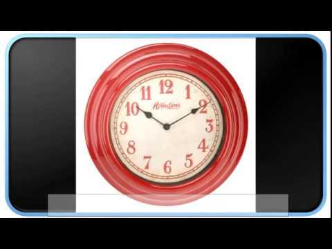 Blue Modern Kitchen Wall Clocks