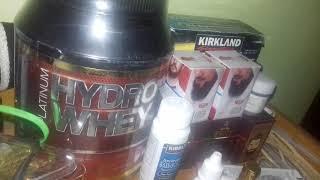 Minoxidil + biotin + B'affi + cream kimiri + hydro whey