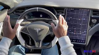 how to change Tesla model s and x steering wheel ( 2 custom steering wheel )