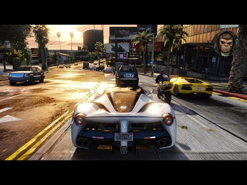 ► GTA 6 Graphics - ✪ M.V.G.A. - Best Supercars Gameplay! Realistic Graphic ENB MOD PC - 60 FPS
