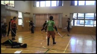 「雷神-RAIJIN-」の殺陣稽古映像です。JAE武智健二さんのめまぐるしい殺...