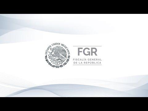 #FGRInforma Mensaje a medios del Fiscal General de la República, Dr. Alejandro Gertz Manero.