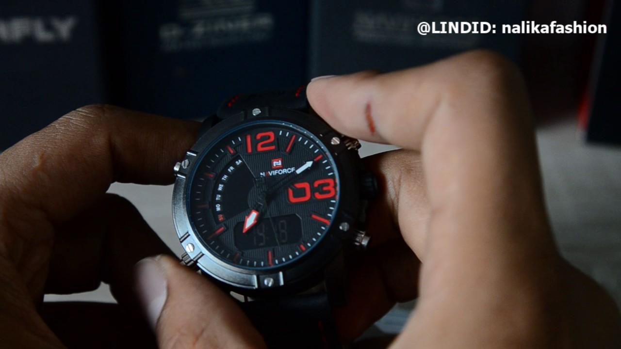 การตั้งนาฬิกา Naviforce Nf9095M By www.นาฬิกาแฟชั่นราคาถูก.com