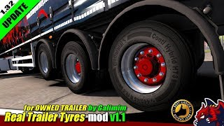 "[""Euro Truck Simulator 2"", ""tuning mod"", ""Real Trailer Tyres Mod v1.1"", ""by Galimim""]"