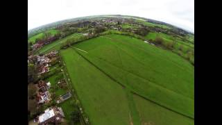 DJI F550 in winds gusting up to 35mph