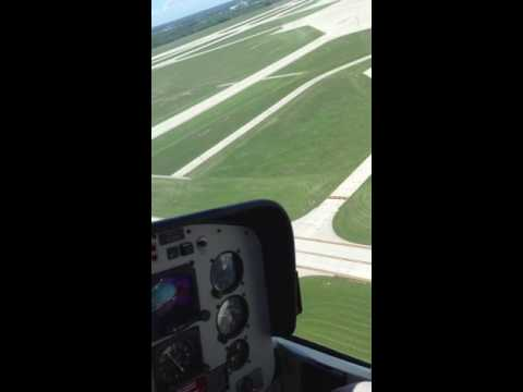 Helicopter ride over Gerald R Ford International Airport