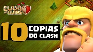 10 JOGOS QUE COPIARAM CLASH OF CLANS