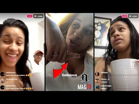 """Cardi B Takes Baby """"Kulture"""" To New York To Visit Family On IG Live! 👶"""