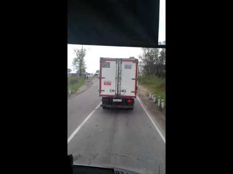 Дорога Егорьевск Воскресенск 81 километр таймлапс