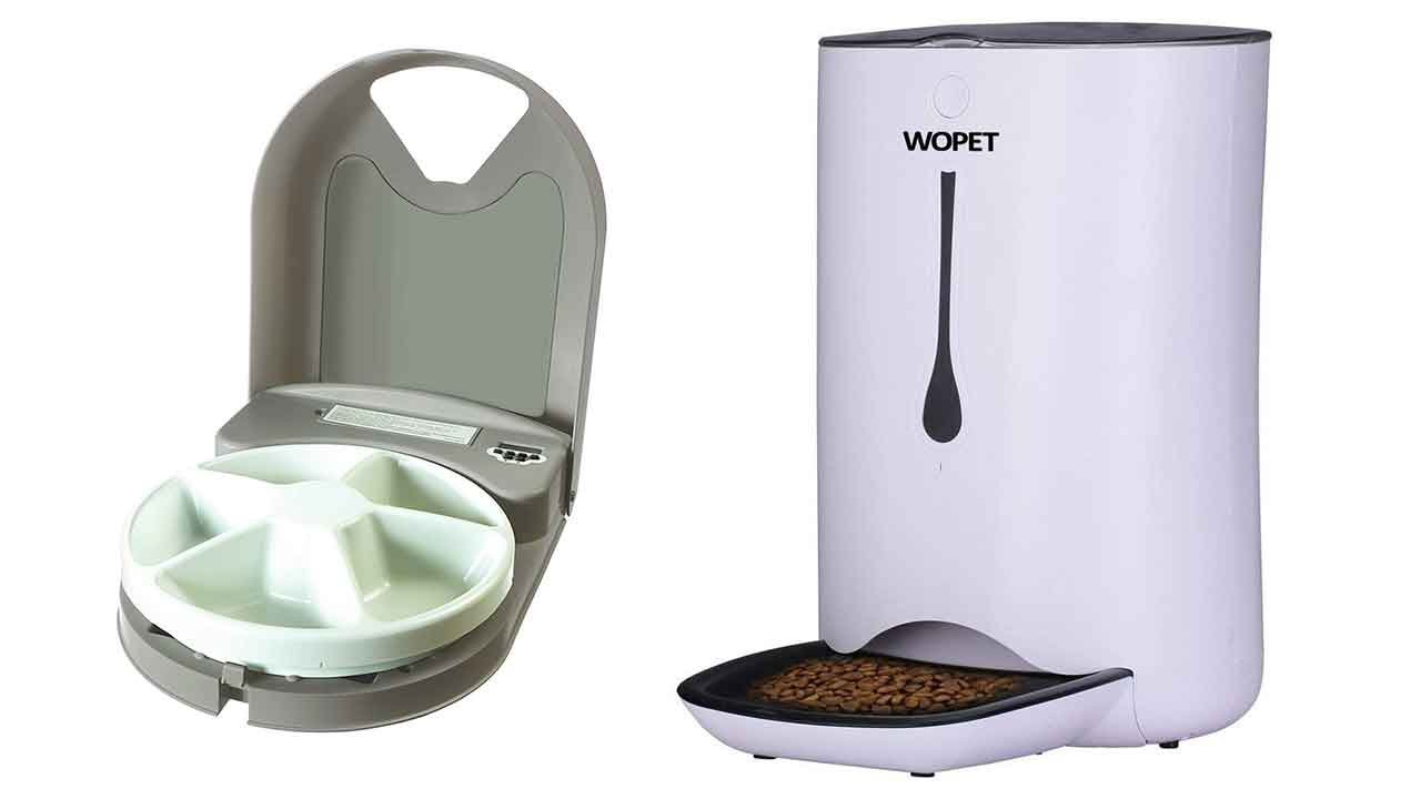 Best Automatic Cat Feeder 2018   Top 5 Automatic Cat Feeder Reviews