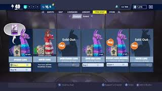 Free Smorgasbord Llama and More | Fortnite