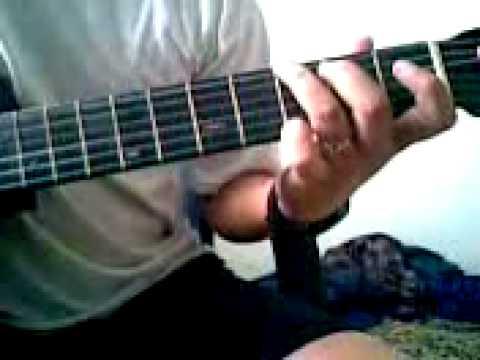 Avenged Sevenfold - Dear God acoustic guitar intro lesson