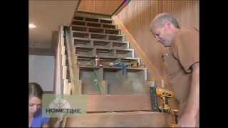 Building The Stone Cottage Stairs