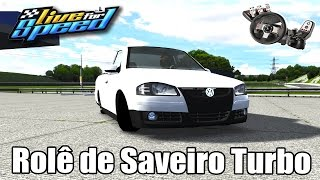 Live For Speed - Racha de VW Saveiro 1.6 turbo ft. ZoiooGamer (G27 mod)