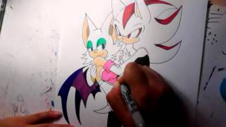 Shadouge :time lapse drawing: