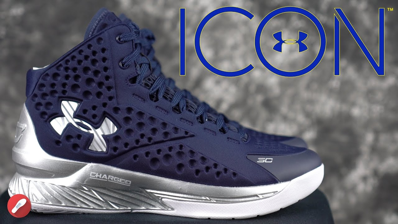 fac24618900d Under Armour Curry 1 ICON! - YouTube