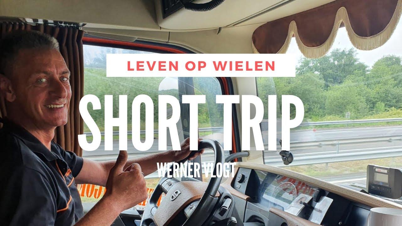 Lossen bij een chemische fabriek | Werner vlogt #21 | Frankrijk | Transport | Leven op wielen