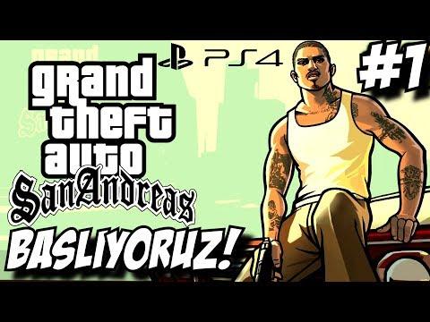 Büyük Efsane başlıyor ! GTA San Andreas ! Ps4 Türkçe #1