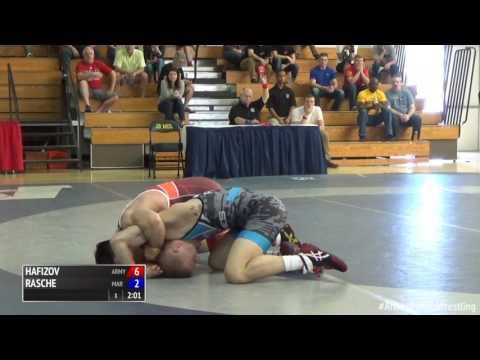 59 kg, Ildar Hafizov, Army vs Colton Rasche, Marines