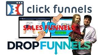 ClickFunnels VS DropFunnels  Sales Funnels