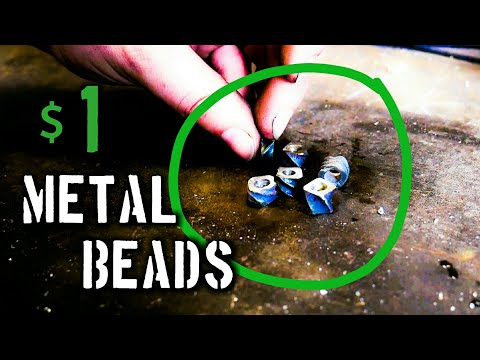 Forging Jewelry: Blacksmith Beads for $1