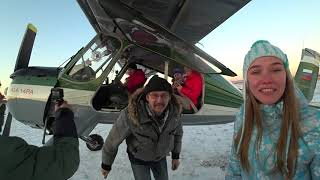 Я был в шоке от такой красоты! Пермский край зимой: Каменный город, снегоходы, лыжи, сноуборд.