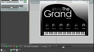 Testing out the new piano vst DSK THE GRAND (FREE VST)